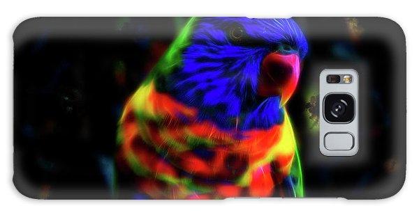 Rainbow Lorikeet - Fractal Galaxy Case