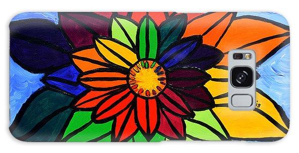 Rainbow Lotus Flower Galaxy Case