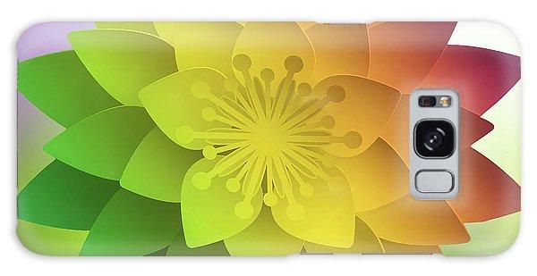 Rainbow Lotus Galaxy Case by Mo T