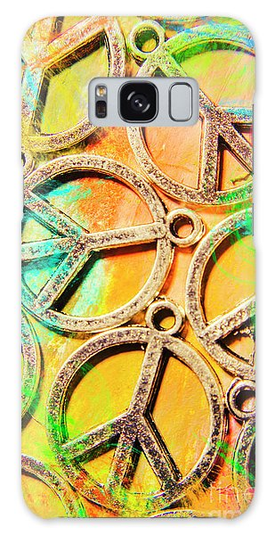 Sixties Galaxy Case - Rainbow Love by Jorgo Photography - Wall Art Gallery