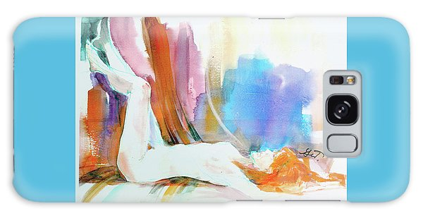 Rainbow Nude Galaxy Case by Gertrude Palmer