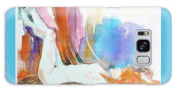 Rainbow Nude Galaxy Case by Gertrude Palmer