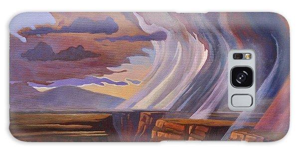 Rainbow Of Rain Galaxy Case by Art James West