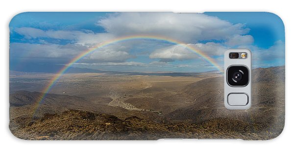 Rainbow Over Borrego Springs Galaxy Case