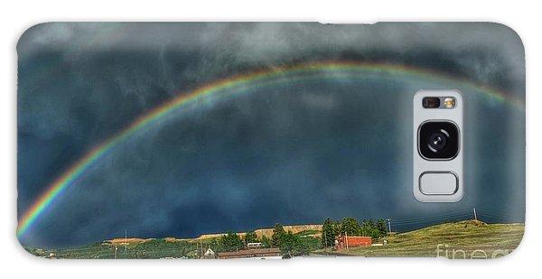 Rainbow Over Cripple Creek Galaxy Case