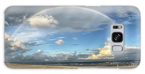 Rainbow Over Ocean Galaxy Case