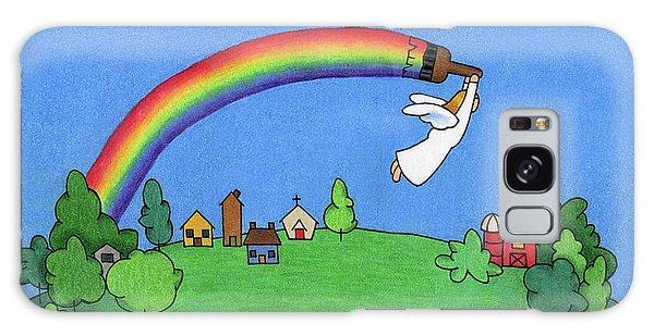 Angel Galaxy Case - Rainbow Painter by Sarah Batalka