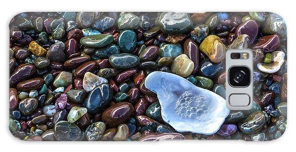 Rainbow Pebbles Galaxy Case