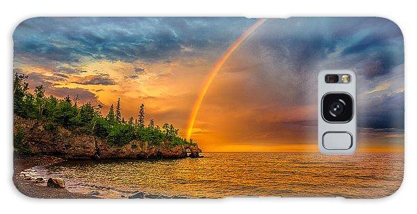 Rainbow Point Galaxy Case