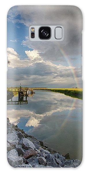 Rainbow Reflection Galaxy Case