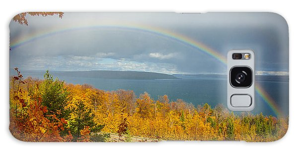 Rainbow Road Galaxy Case