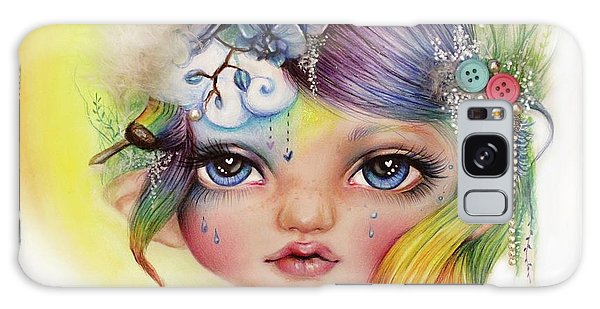Rainbow Rosalie  Galaxy Case by Sheena Pike