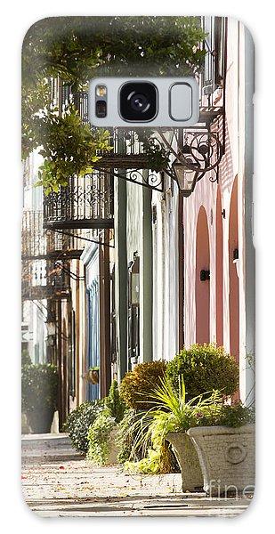 Rainbow Row Charleston Sc 2 Galaxy Case
