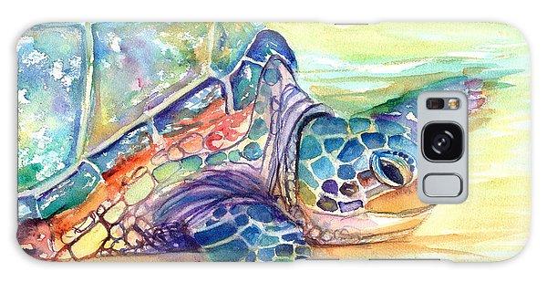 Rainbow Sea Turtle 2 Galaxy Case