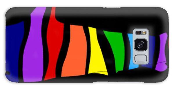 Rainbow Shark Galaxy Case