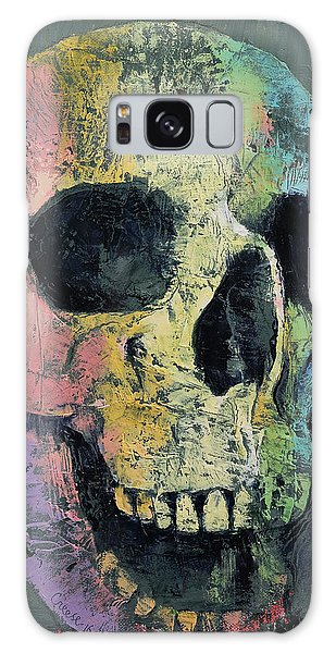 Skulls Galaxy Case - Happy Skull by Michael Creese