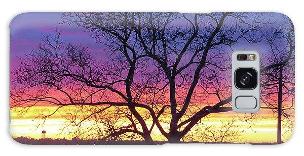 Rainbow Sunset Galaxy Case