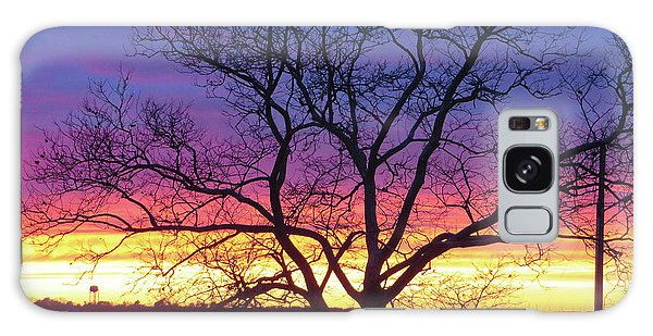 Rainbow Sunset Galaxy Case by Robert Henne