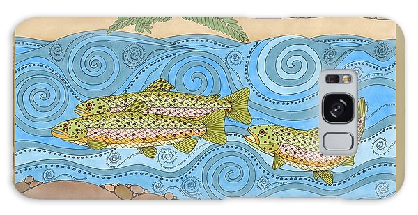 Rainbow Trout Galaxy Case