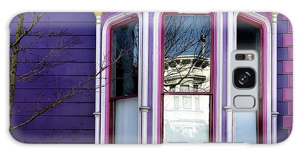 Galaxy Case - Rainbow Window by Julie Gebhardt