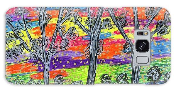 Rainbow Woods Galaxy Case