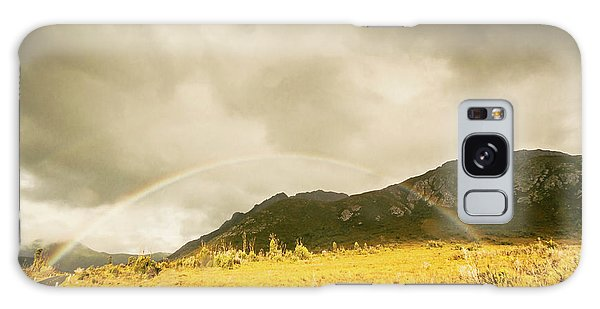 Natural Galaxy Case - Raindrops In Rainbows by Jorgo Photography - Wall Art Gallery