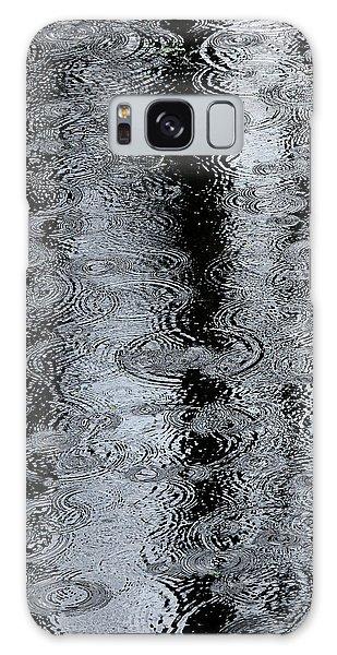 Raindrops On A Pond Galaxy Case