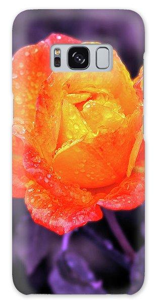 Raindrops On Roses Galaxy Case