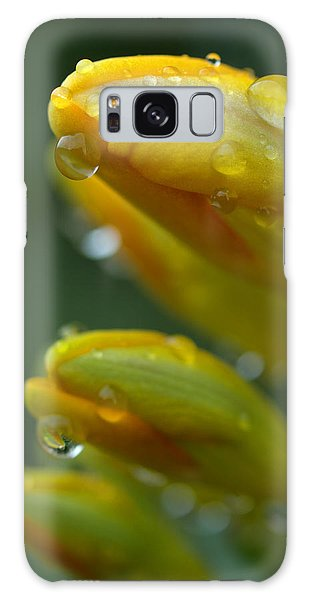 Raindrops Galaxy Case