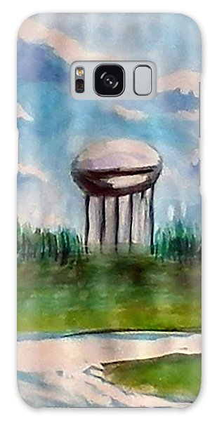 Raines Road Watertower Galaxy Case