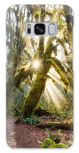 Olympic National Park Galaxy Case - Rainforest Magic by Jamie Pham