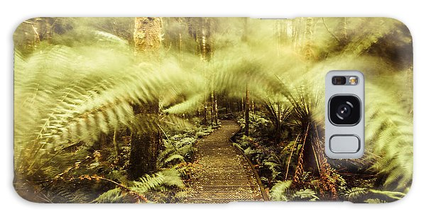 Board Walk Galaxy Case - Rainforest Walk by Jorgo Photography - Wall Art Gallery
