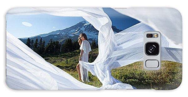 Rainier Ribbons Galaxy Case by Dario Infini