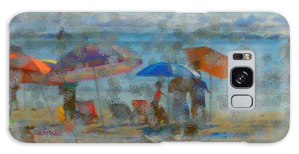 Raining Abstract Galaxy Case