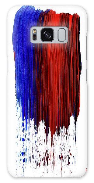Raining Color Galaxy Case