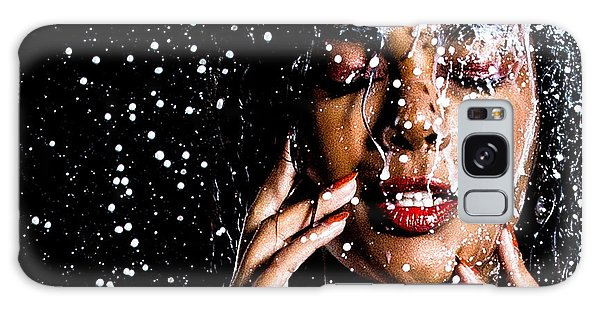 Rainning Galaxy Case