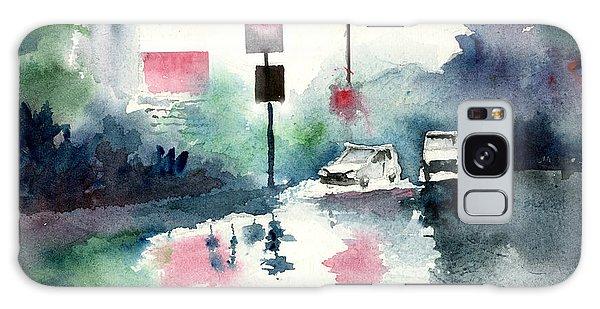 Rainy Day Galaxy Case by Anil Nene