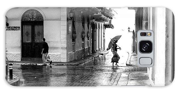 Rainy Day In Casco Viejo Galaxy Case