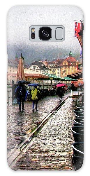Rainy Day In Lucerne Galaxy Case