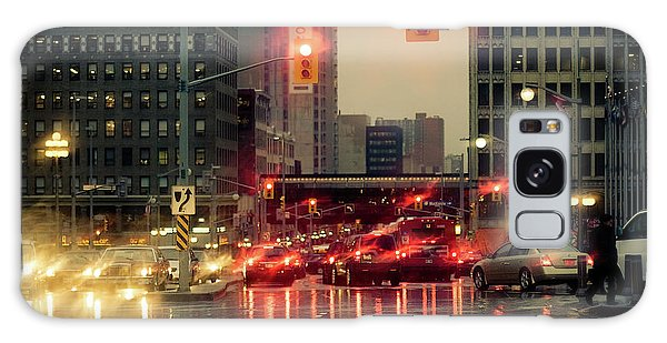 Rainy Day In Ottawa Galaxy Case
