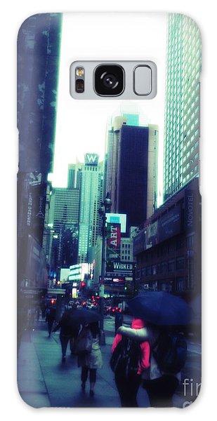 Rainy Day New York City Galaxy Case