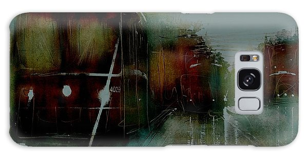 Rainy Day On The Ttc Galaxy Case by Jim Vance