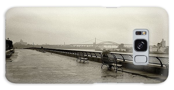Galaxy Case featuring the photograph Rainy Days Sepia by Dave Beckerman