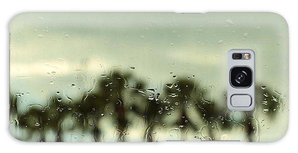 Rainy Daze Galaxy Case by Christopher L Thomley