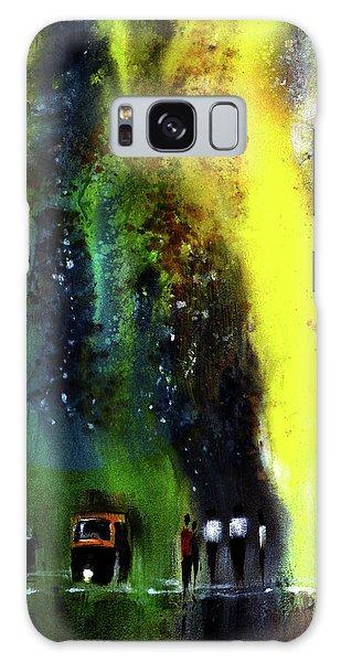 Rainy Evening Galaxy Case
