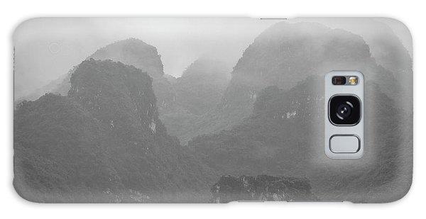 Galaxy Case featuring the photograph Rainy Ha Long Bay, Ha Long, 2014 by Hitendra SINKAR