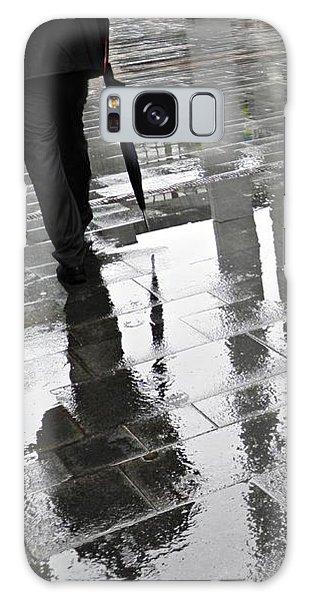 Rainy Morning In Mainz Galaxy Case by Sarah Loft
