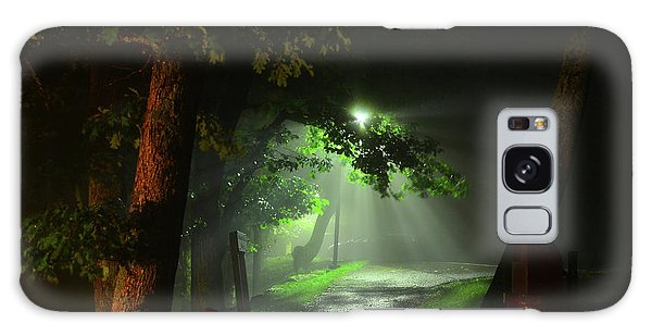 Rainy Night Galaxy Case