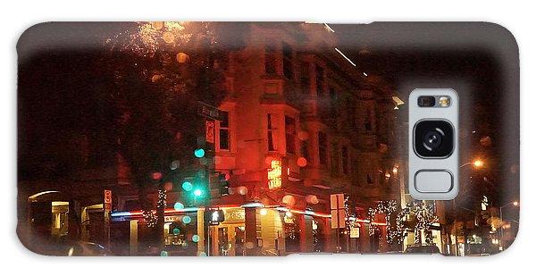 Rainy Night San Francisco Galaxy Case