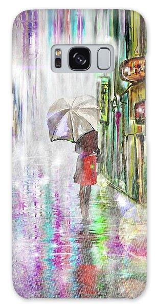 Rainy Paris Day Galaxy Case